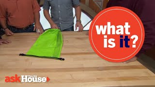 What Is It?   Green Waterproof Bag with Air Vent