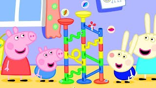 Peppa Pig Marble Race Challenge | Peppa Pig Official Channel