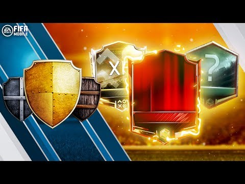 100 LEAGUE WINS!!! HUGE 'LEAGUE MEGA PACK' PACK OPENING | FIFA MOBILE