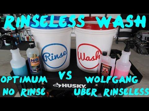 Rinseless Wash: Optimum vs Wolfgang