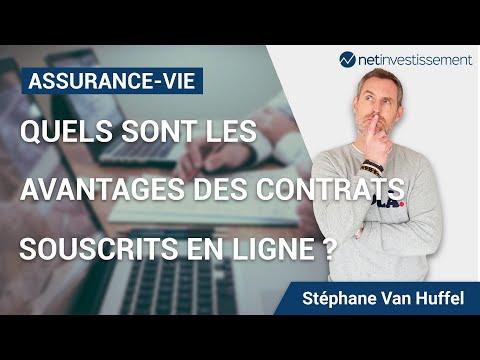 Assurance-vie : Quels sont les avantages des contrats  souscrits en ligne ?  [vidéo BFM]