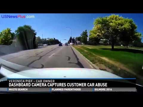 Dash cam busts dealership employee abusing customer car