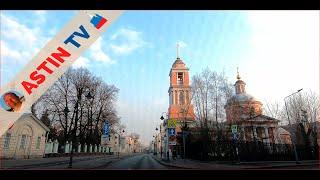 Столица России - Москва! На автомобиле по городу!