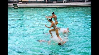 Синхронное плавание. Итоги чемпионата Украины в Харькове