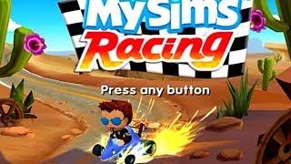 My Sims Racing Nintendo Game