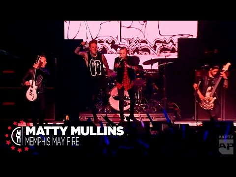 Papa Roach with Matty Mullins - Getting Away With Murder Live at APMAs