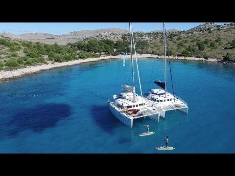 Catamaran Sailing Croatia Split Dubrovnik