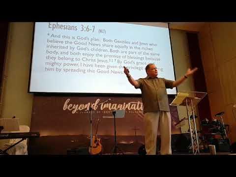 November 5 -  Beyond Imagination - Pastor Todd Nelson