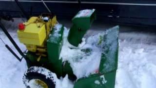 John Deere Snowblowers Suck! **YES**