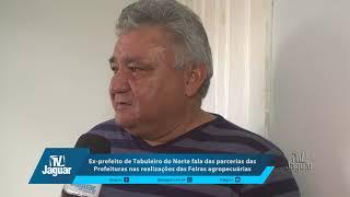 Ex prefeito de Tabuleiro Marcondes fala das parcerias das Prefeituras nas Feiras Agropecuária