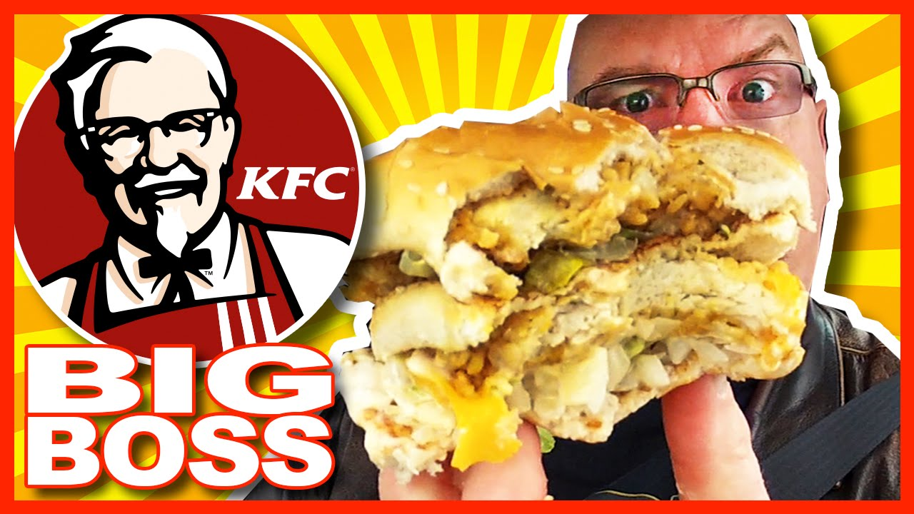 KFC ★ BIG BOSS ★ Sandwich and BigBox Review + Drive Through Test