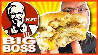 KFC ★ BIG BOSS ★ Sandwich and BigBox Review + Drive Through Test