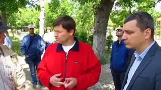 Дмитрий Тепин встретился с жителями поселка Крекинг