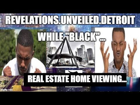 """VIEWING HOME """"WHILE BLACK""""."""