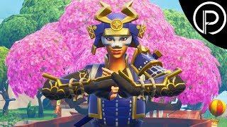 Honor The Samurai! - Fortnite Battle Royale Funny Moments! (Hime Skin)