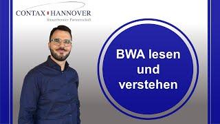 BWA lesen und verstehen; Was bringt dir die Betriebswirtschaftliche Auswertung
