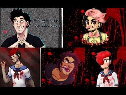 Courtesy Cell ~ Dark, Wilford,Glitch,Yandere and Googleplier (1,000 subs)