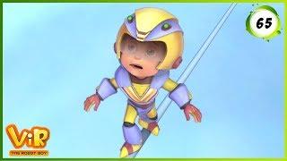 Vir: The Robot Boy   Vir Vs Yeti   Action cartoons for Kids   3D cartoons