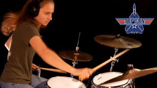 Danger Zone (Kenny Loggins); drum cover by Sina