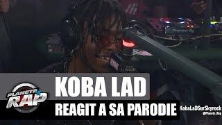 Koba LaD réagit à la parodie de Mister V (Rap VS Réalité 2) #PlanèteRap