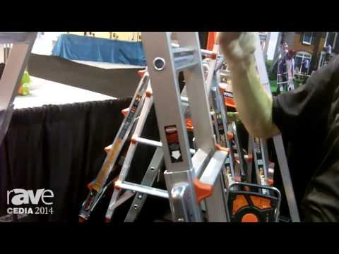 CEDIA 2014: Little Giant Ladders Introduces the Xtreme Ladder