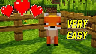 How to Tame A Fox In Minecraft 1.15+ (Tutorial)