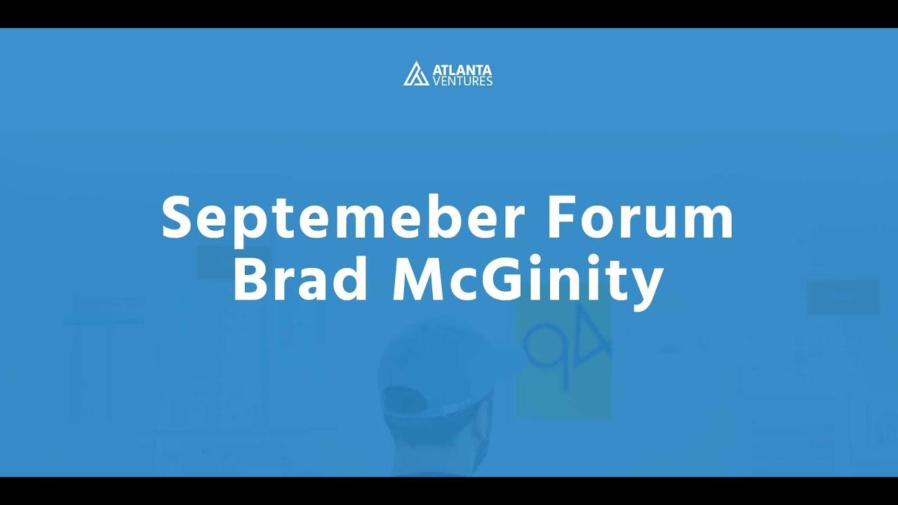 Simply SaaS Forum - Sales - Brad McGinity - September 2018