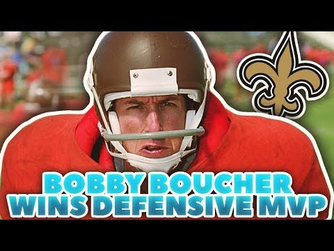 THE WATERBOY WINS DEFENSIVE MVP! BOBBY BOUCHER'S JOURNEY IN THE NFL!