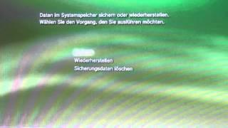 PS3 Backup erstellen Tutorial How to