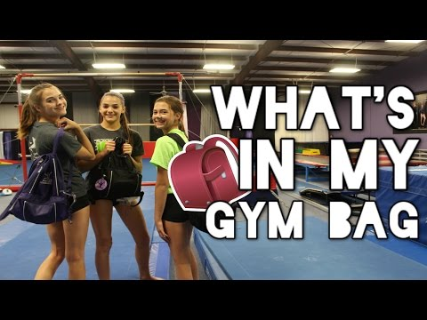 Whats in my Gym/Cheer Bag: Cheer/Gymnastics Survival Kit