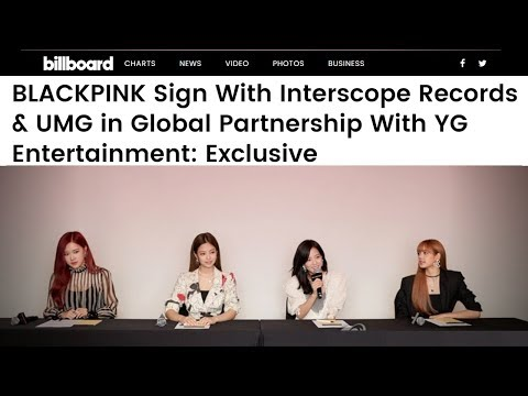 BLACKPINK Prepares For US Debut with Interscope Records under UMG