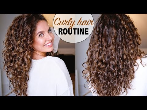CURLY HAIR ROUTINE / CG METHODE 🙅🏽‍♀ | Paulien Tilstra