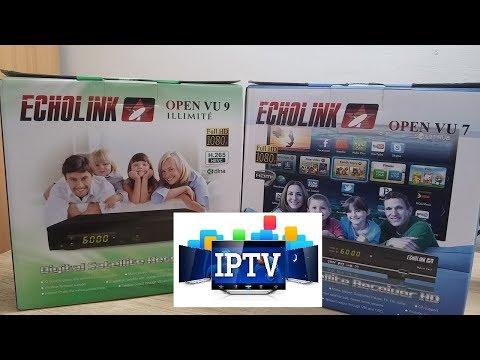 Echolink TEST DIMA TV ip OPEN VUE 7/9     iptv تجربة أقوى سيرفر