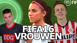 FIFA 16 - Vrouw net zo GOED ALS ROBBEN!? Rob & David!