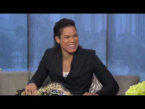 UFC Champion Amanda Nunes talks defeating Ronda Rousey