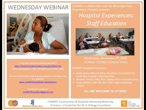 Hospital Experiences: Staff Education