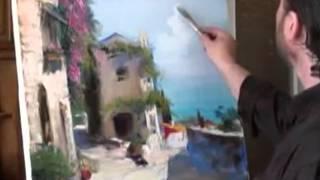 Видеоуроки от Игоря Сахарова: Старые городские улочки