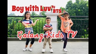 Gambar cover Boy with Luv by BTS Dance Cover by Galang Kids, Vlog #3