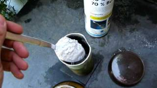 A Kind Of Thermite (2parts plaster-1pt Al)