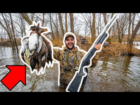 EPIC Duck Hunt at the GIANT BEAVER DAM!!! – It Was LOADED! (CATCH CLEAN COOK)