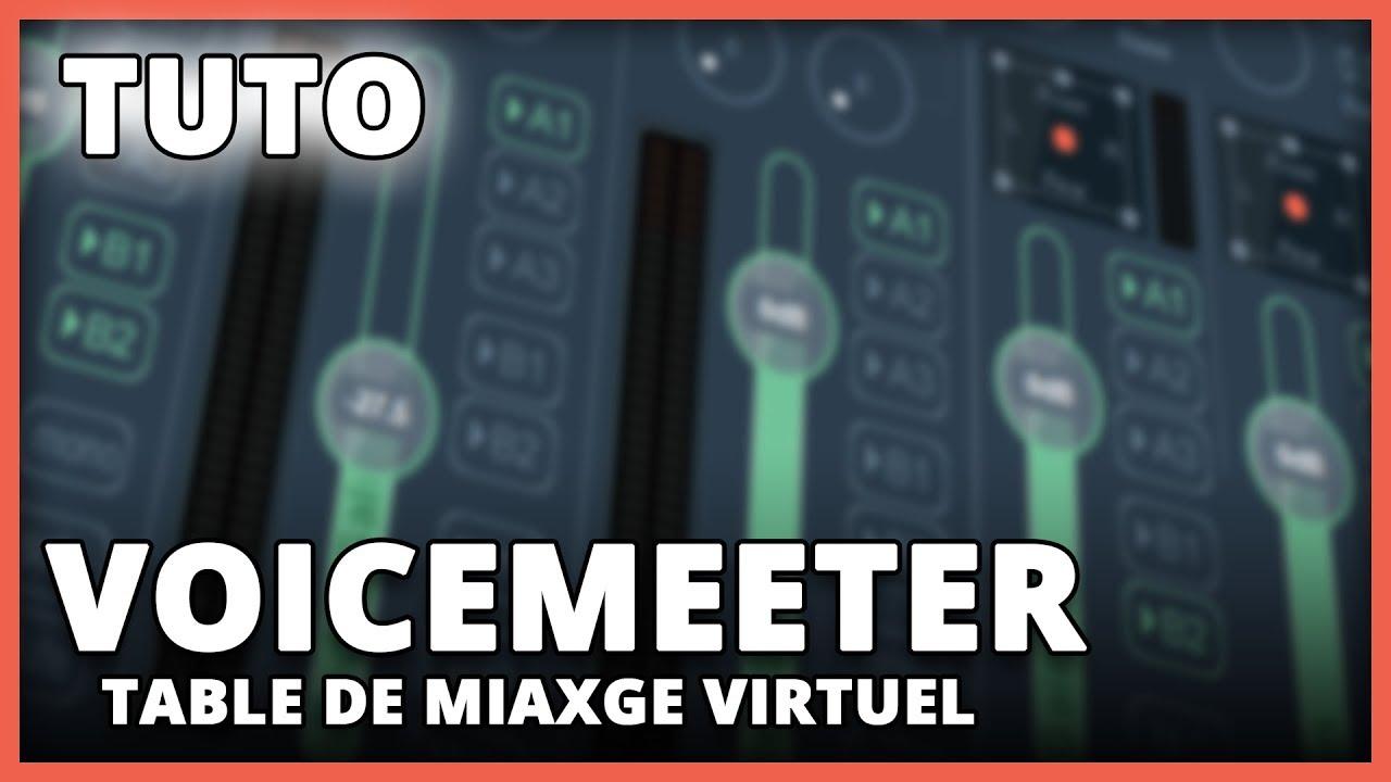 table de mixage virtuel