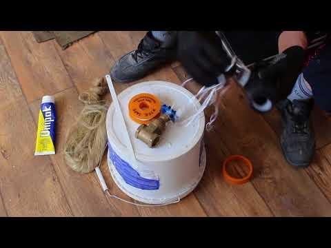 4 Подмотка пластиковых  фитингов
