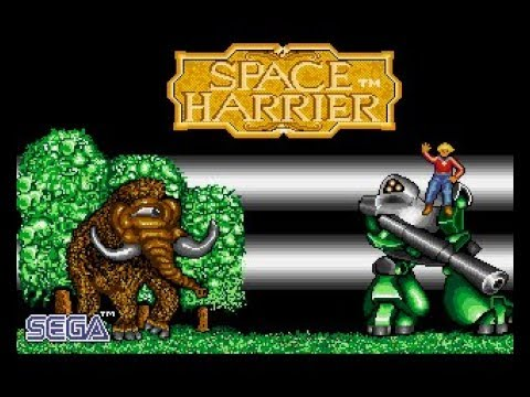 Space Harrier Review for the Commodore Amiga by John Gage