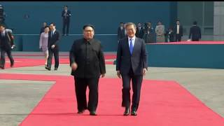 Video KIM JONG UN AND MOON JAE-IN MEET FOR INTER-KOREAN SUMMIT download MP3, 3GP, MP4, WEBM, AVI, FLV September 2018