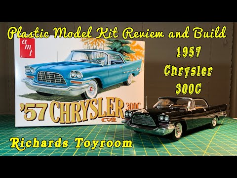 Plastic Model Kit Review and Build 1957 Chrysler 300C