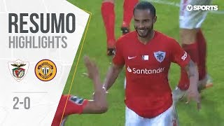 Highlights   Resumo: Santa Clara 2-0 Nacional (Liga 18/19 #23)