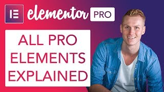 Elementor Pro | All The Elements Explained