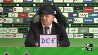 Mister Iachini prima di Sassuolo-Fiorentina