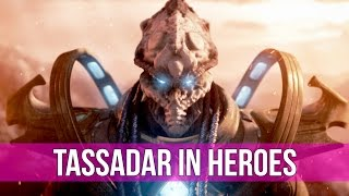 Heroes of the Storm: Tassadar Build - How To Tassadar! (Gameplay)