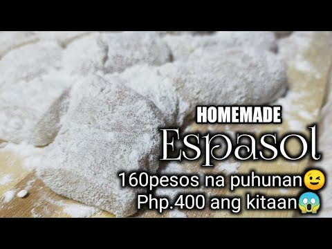 Espasol  Homemade ( Kikita Ka Talaga👌👌)